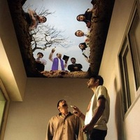 Plafondekor a cigiszobában
