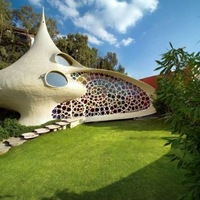 Csigaház belső kerttel