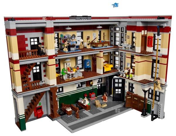 Szellemirtók főhadiszállás LEGO-átiratban