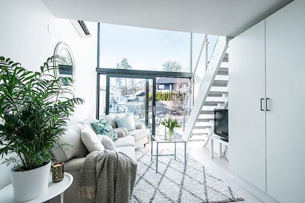 33 m2 két szinten