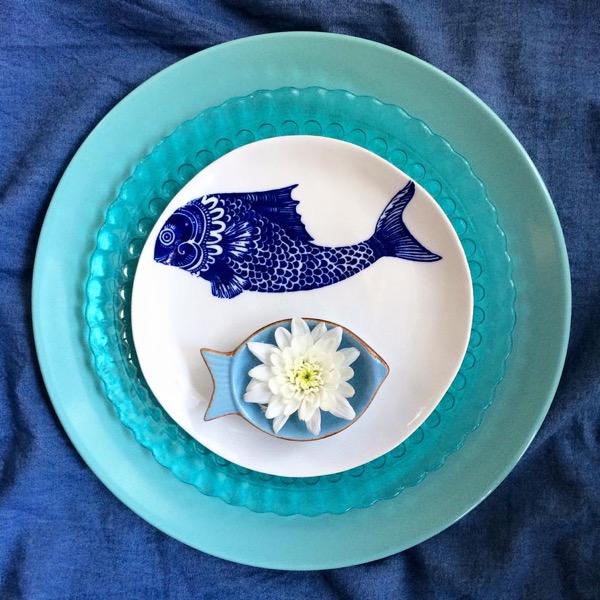 Hipnotikus tányérkompozíciók