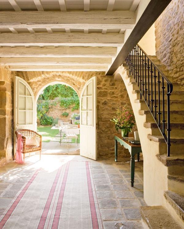 7 1 tipp gy dobd fel az el szob d otthon des - Entradas de casas rusticas ...