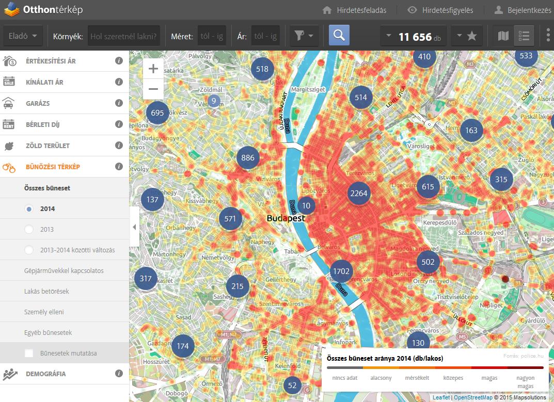 bűnügyi térkép budapest A bűn városai Magyarországon!   Otthontérkép bűnügyi térkép budapest