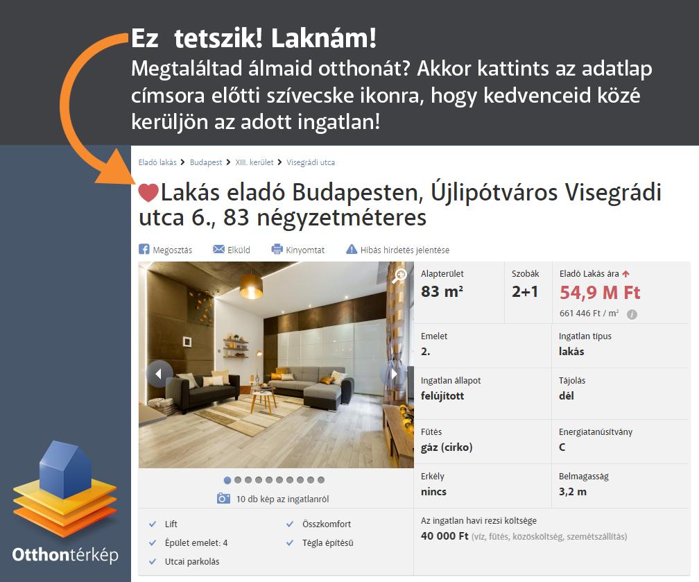 Keressük Budapest legszebb lakóingatlanát