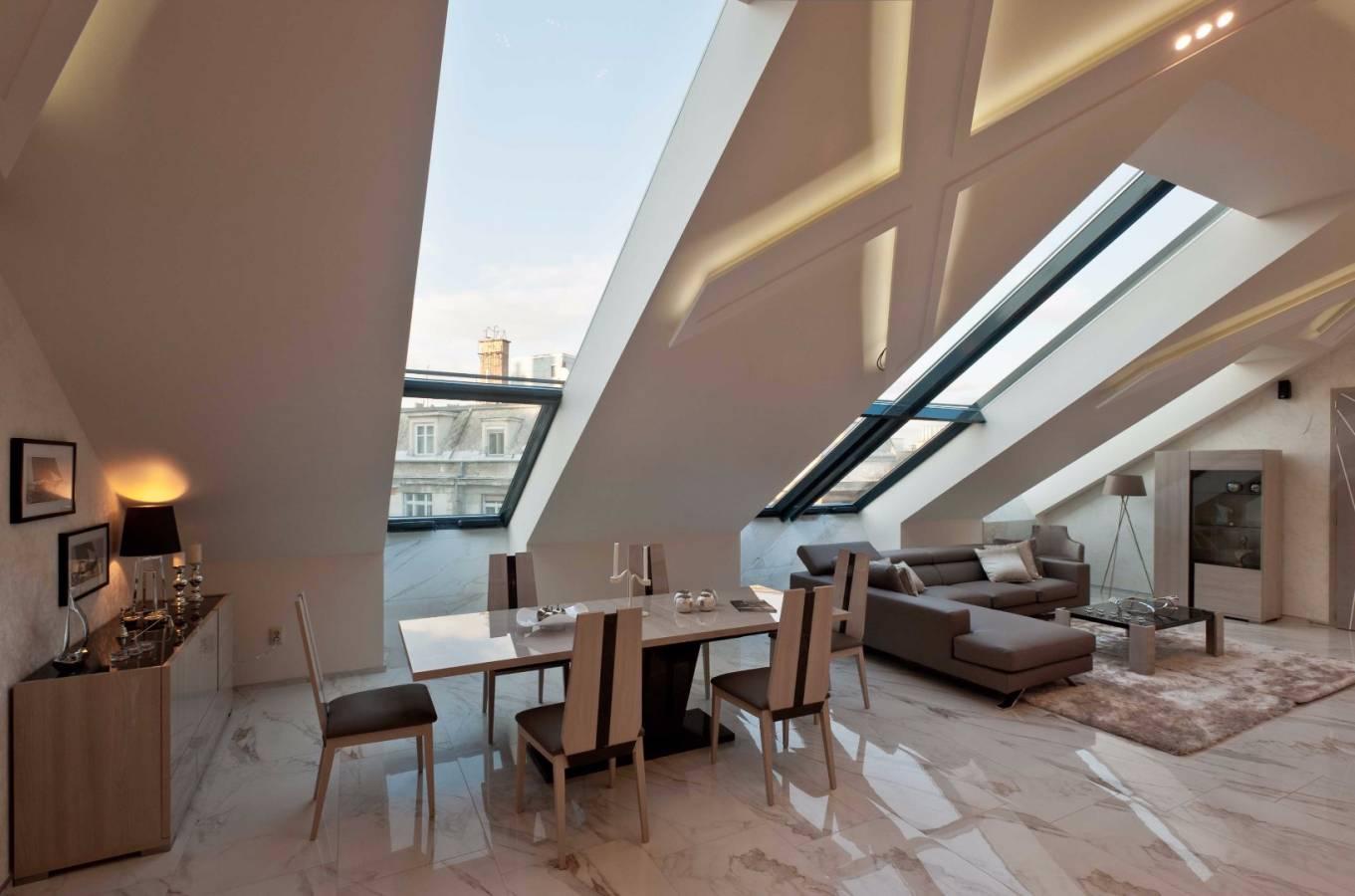 Lélegzetelállító penthouse lakás a Bazilika szomszédságában
