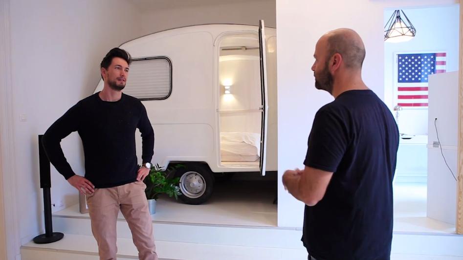 Plusz szobára vágysz? Tegyél lakókocsit a lakásba!