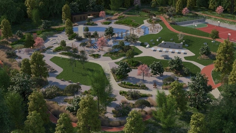 Közel 1 hektáros élménypark épül a lakóknak Budán!
