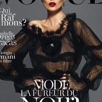 Új tipó és három címlap a francia Vogue-nál