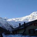 Síelés 3300m méter felett a svájci Saas-Fee-n