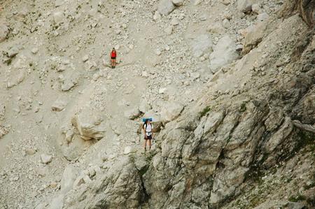 A kőmezőn