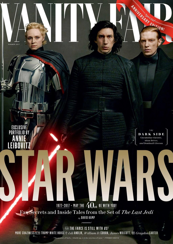 Történetes során először jelenik meg négy különböző Star Wars-címlappal a Vanity Fair magazin.