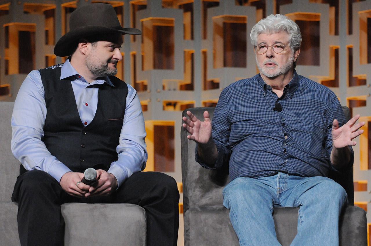 Lucas és legjobb padawanja, Dave Filoni rendező, a Lucasfilm animációs részlegének vezetője