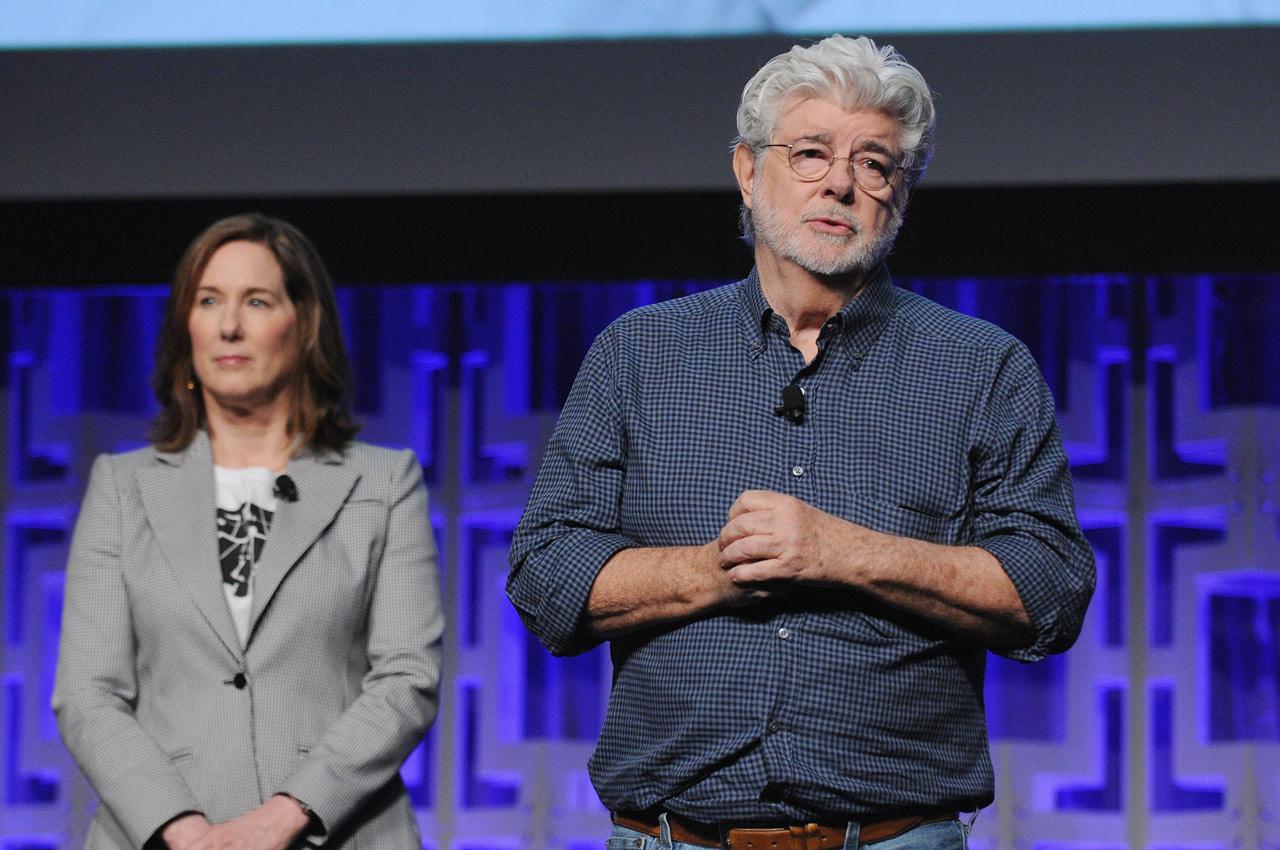 Kathleen Kennedy Lucasfilm-elnök és George Lucas is szép szavakkal emlékezett meg Carrie Fisherről.