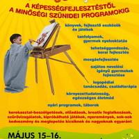 """A tavaszi """"Gyermekeink Jövője"""" rendezvényről, kiállításról"""