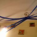 Farsangi dekoráció - LUFI pókcsalád és polip