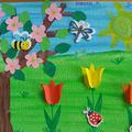 Gyönyörű tavaszi alkotások
