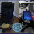 Irodaszékből varrós-széket