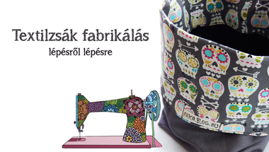 Textilzsák fabrikálás