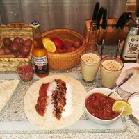 Burrito és kukorica krémleves