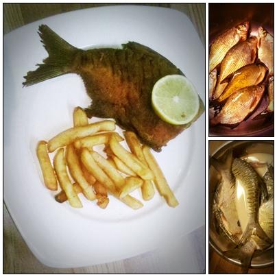 A magyar fish and chips...