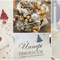 Ünnepi dekorációk csoki különlegességekkel