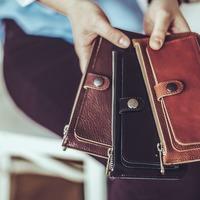Bőrpénztárca készítő workshop!