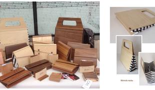 Fából készülnek a design táskák!