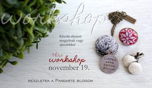 Téli ékszer workshop - Karácsonyi ajándéktipp!
