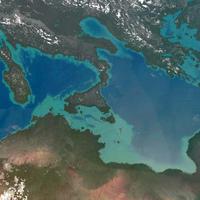 Sivatagi só a Földközi-tenger alatt