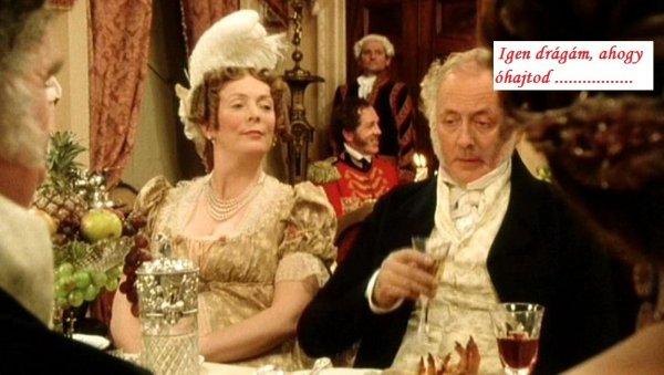 Mr. és Mrs Bennet a Büszkeség és balítéletből