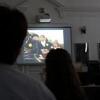 Holocaust megemlékezés a Refiben 2016.