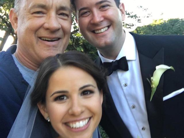 Amikor Tom Hanks betoppan egy esküvőre