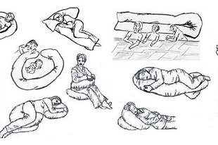 Formakalauz a szoptatós párnákhoz