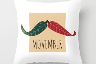 Ha Movember, akkor bajuszpárna