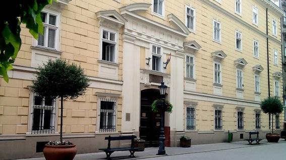 Heller_Farkas_Szakkollegium_Vaci_utcai_epulet egykori zárda wikipédia S. Dávid.jpg