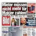 Nem a bérlőnek kell a máklert fizetnie Németországban!