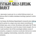 A Lifelog sztori