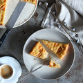 Sárgadinnyés-túrós pite