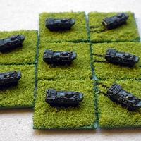 Szovjet 16. Gárda Harckocsi Hadosztály és megerősítői -1985