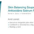 Ismerd meg, nyerd meg: Skin Balancing Antioxidáns Szérum