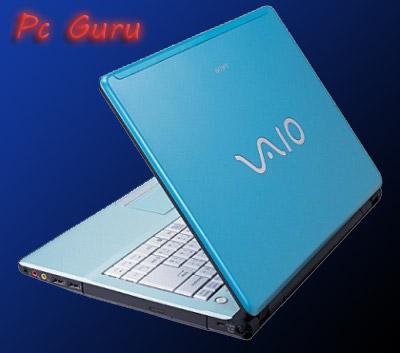 Sony VAIO notebook