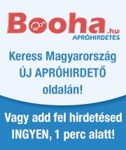 Apróhirdetés, apróhirdetés feladás ingyen - Booha.hu