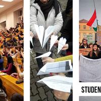 A magyarországi Hallgatói Hálózat támogató levele a kolozsvári egyetemfoglalókhoz (HUN, ROU, ENG)