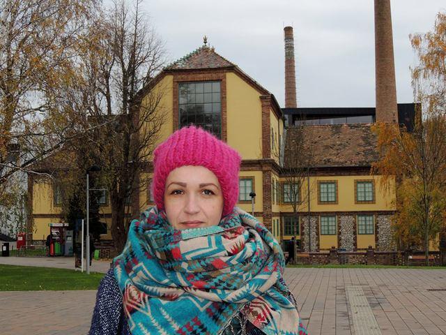 2016 november. Anka Herbut (POL): Pécsi november