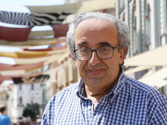 2016 augusztus. Joe Friggieri (Málta): Pécsi sorok