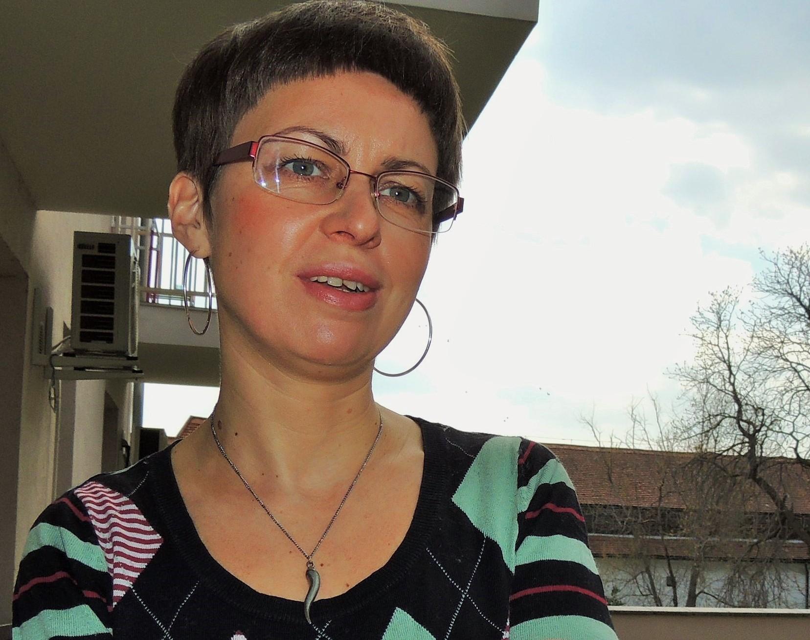2015 április. Natalka Sznyadanko (UKR): KuK-utazás