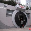 Beszarás! Kamera alakú nyilvános WC-t építettek Kínában!