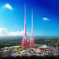 A világ legmagasabb felhőkarcolóját tervezik megépíteni Kínában