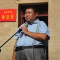 Mao unokája dalra fakadt egy sajtótájékoztatón