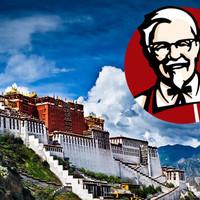 Éttermet nyit a KFC Tibetben, már bírálják is érte